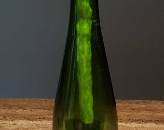 Orange Miscato Wine Bottle Tiki Torch (TT103)