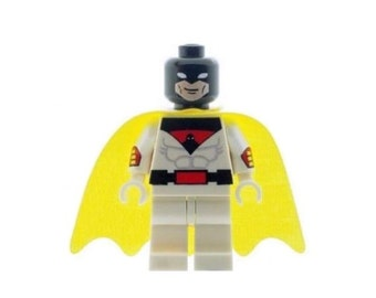 Custom Design Minifigure - Space Ghost Printed On LEGO Parts