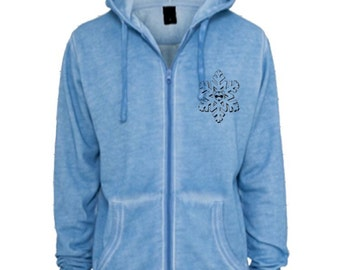 Sweatshirt PUCKSUCK Snowflake