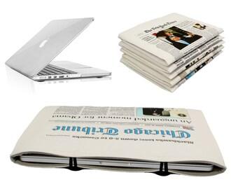 "15"" Macbook Pro Retina Chicago Tribune Newspaper Case Sleeve Macbook 15 sleeve Macbook 15 in case Macbook 15 Retina case Macbook 15 cover"