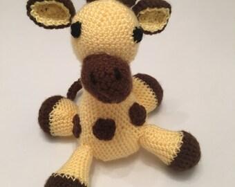 Baby giraffe handmade crochet