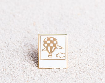 Polaroid Enamel Pin - Hot Air Balloon