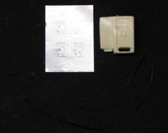 1:25 scale model resin ambulance Lifepak 500