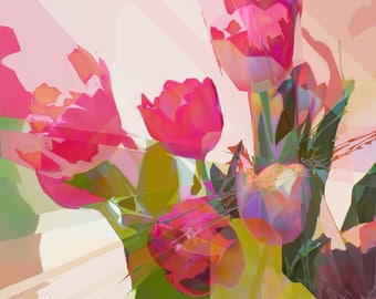 Tulips - Giclée Print  - Limited Edition - Signed