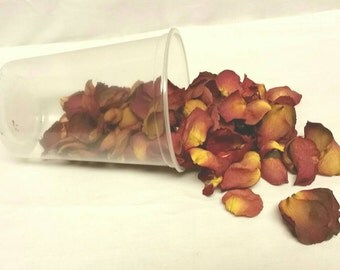 Rose pedals dried