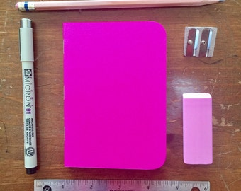 Bulk Blank Notebooks | 3.5 x 5 | Pink Notebook | Notebook | Sketchbook | Journal | Pink Journal | Pink Sketchbook | Travelers Notebook