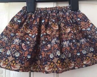 Handmade liberty print skirt