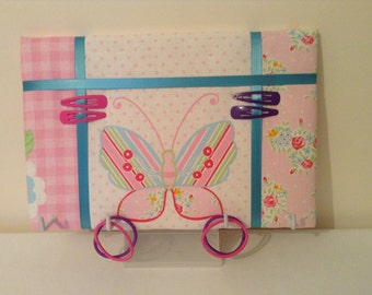 Hair accessory tidy board