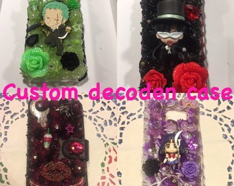 Custom decoden case for iPhone, Samsung and more