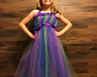 Triple Color Tutu Dress
