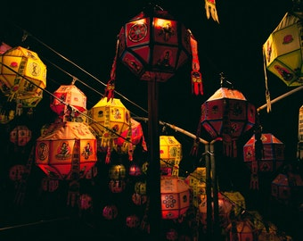 Korean Lanterns - Photo Print