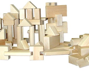 LITTLE BUILDER 100 Piece Block Set
