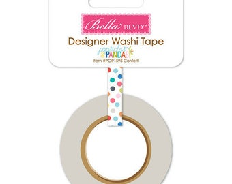 Popscles and Pandas Washi Tape - Bella Blvd