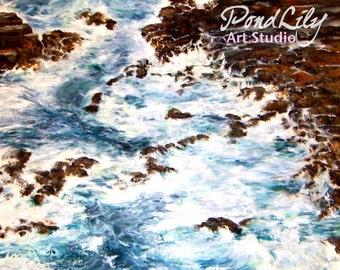 Coastal Tide Print