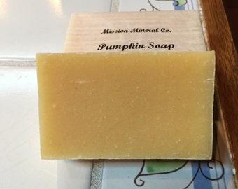 Pumpkin Soap * Soap *Handmade Soap