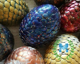 Handpainted Fantasy Dragon Eggs
