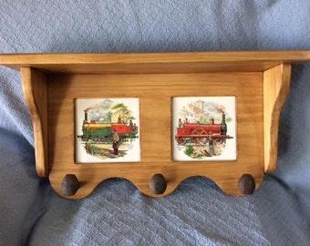 Train shelf