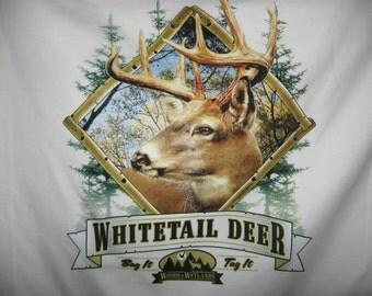 SALE white tail der t shirt