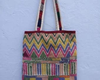Vintage hand embroidered Banjara jhola bag, Boho Bag, Gypsy shoulder bag