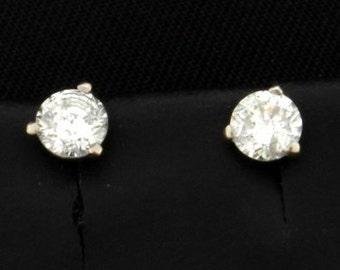 Diamond Stud Earrings .4ct TW