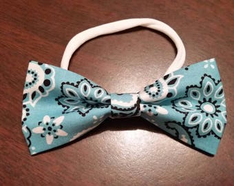 Paisley Bow Tie or Bow