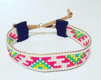 Native American Inspired Beaded Bracelet