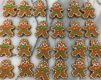 Mini Bite Sized Gingerbread Men