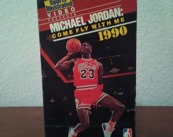 Michael Jordan come fly with me 1990 Sports Illustrated movie VHS