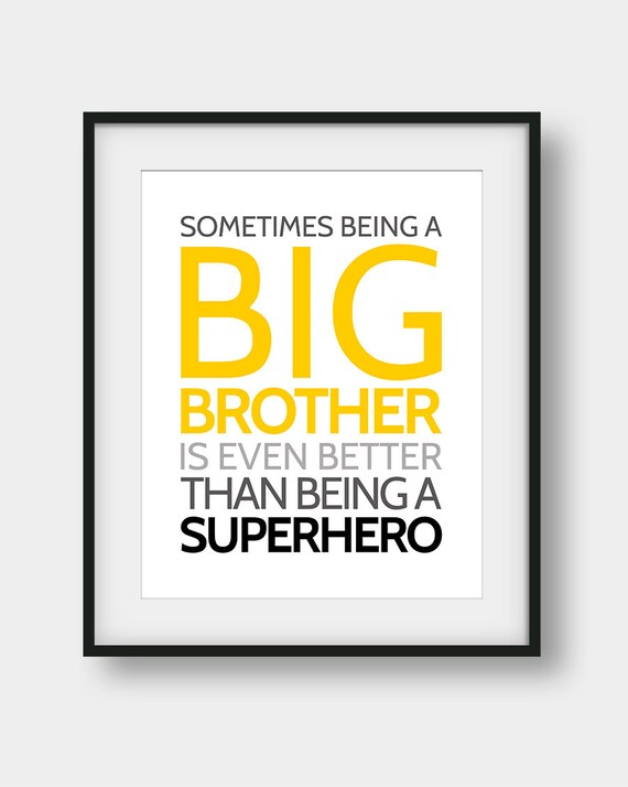 60% OFF Sometimes Being A Big Brother Is Even Better Than