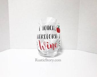 I teach, therefore I wine - teacher's gifts