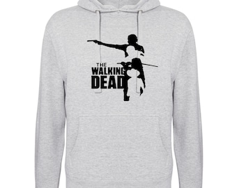 Inspired by Walking Dead Zombie Dead People Outbreak Printed Hoodie