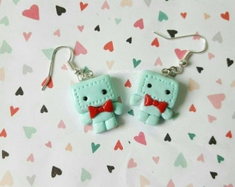 Robot Earrings // Futuristic Jewelery // Baby Bots // Baby Robots // Mr.Roboto