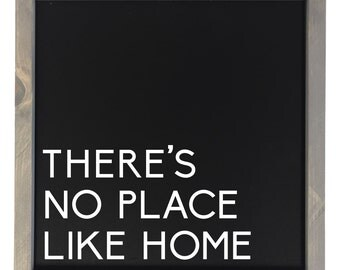 There's No Place Like Home - Sign