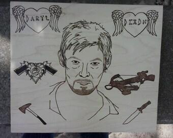 Daryl Dixon Wall Art