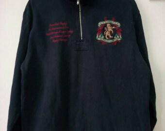 Vintage 90s CANTERBURY Rugby sweatshirt size XL