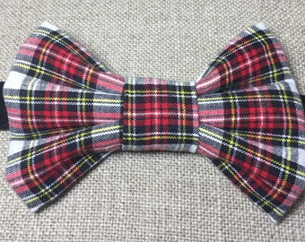 Child's tartan bow tie, dress stewart bow tie, boy's tartan bow tie.