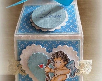 Box milk box Valentine's day