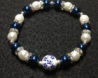 Spring series (blue flower)