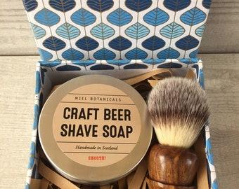Craft Beer Shaving Gift Box