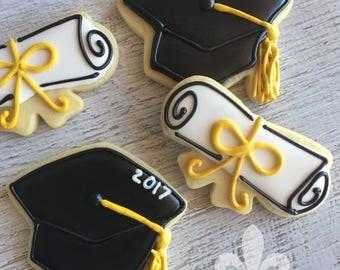 1 Dozen Graduation 2017 Cookies