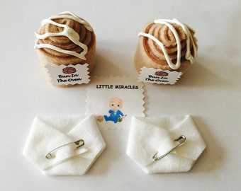 LM 40 Bun In The Oven & 40 White Baby Shower Dirty Diaper Favor Game