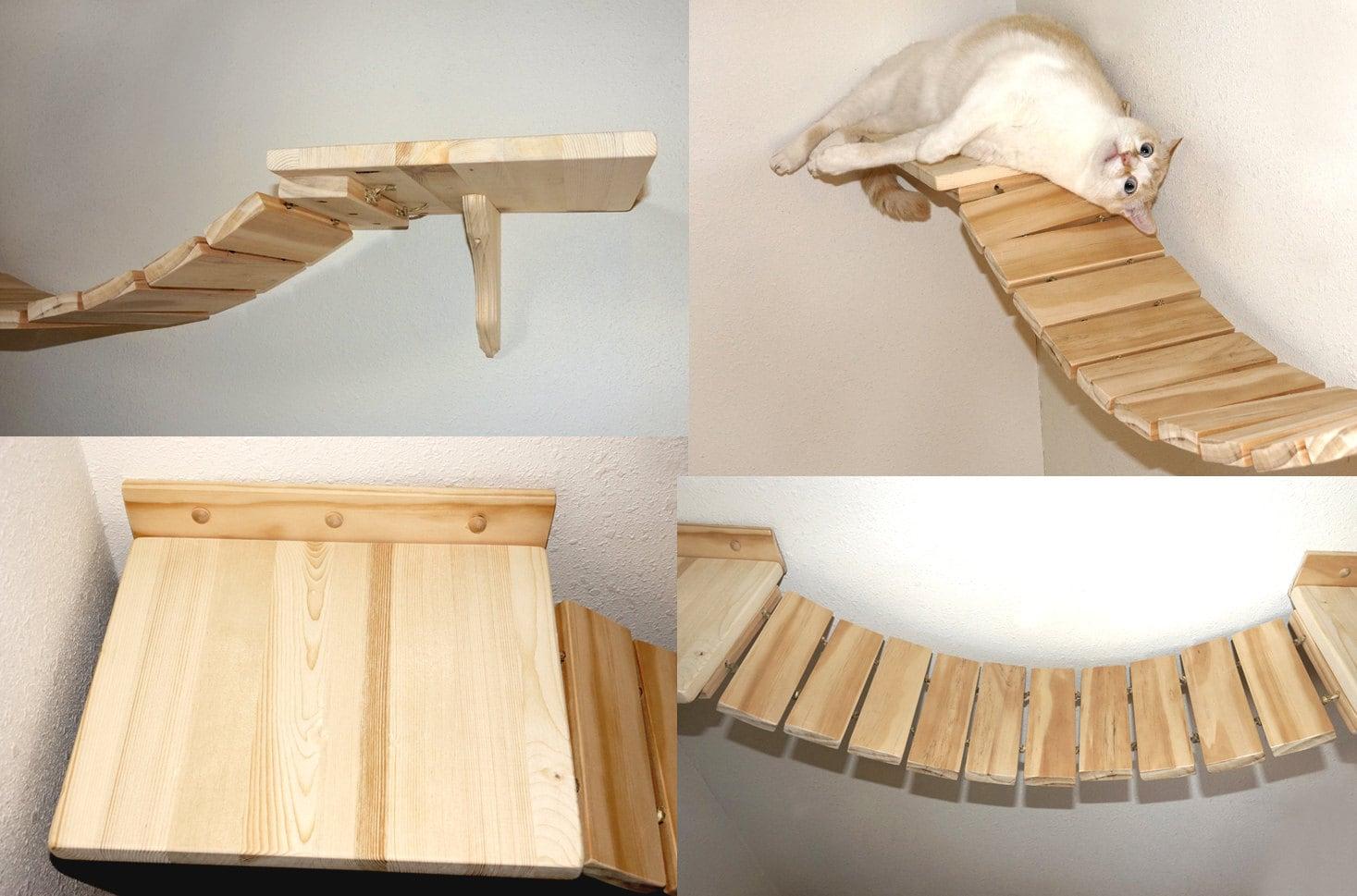 Cat Bridge Cat Boardwalk Cat Walkway Cat Shelves Cat Wall