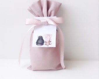 Lavender Sachet with label