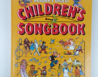 Reader's Digest Children Songbook - 1980s