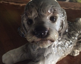 Vintage Goebel Poodle Dog Figurine