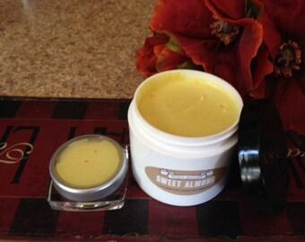 SWEET ALMOND WHIPPED Shea Butter w/Coconut Oil - 4 oz.