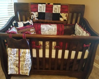 Custom Western/Cowboy Baby bedding set