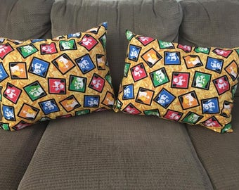 FREE SHIPPING The Beatles Faces Throw Pillow(s)