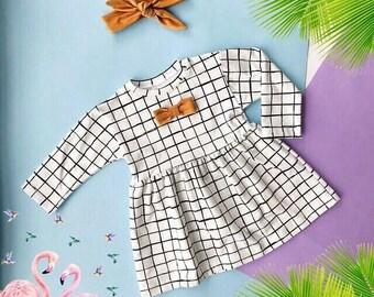 Organic baby dress White little Baby/Toddler Dress baby girl Baby Girl Dress, Baptism, Christening Dress, Girl Dress, Girl Baby Outfit