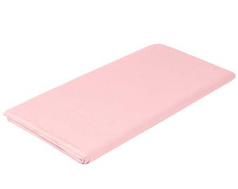 "54""X108"" Classic Pink Tissue Rectangle Table Cover, table cover, tableware, party supplies, wedding supplies, birthday party, baby shower"